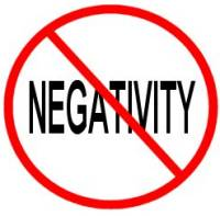 Cut negative people out of your life without notice.